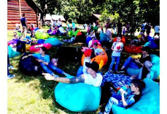 Семейный корпоратив в Пирогово компании Softserve 100 человек
