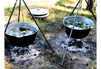 Пикник для компании Ecosoft под Вышгородом 100 чел. Тимбилдинг Последний Герой