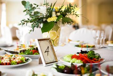 Свадебное меню на 70-80 человек
