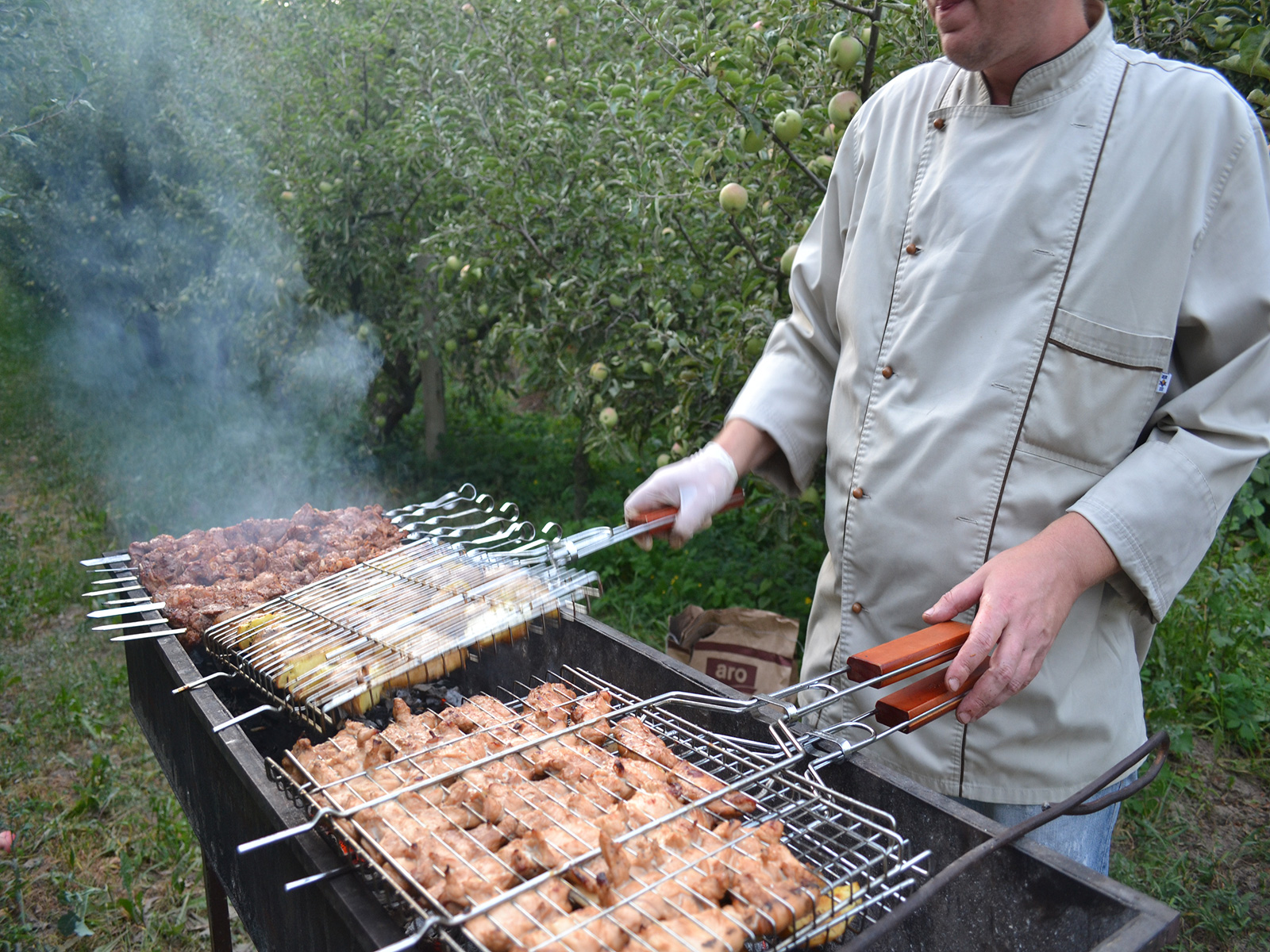 Реферат по организации барбекю печь барбекю от сталика